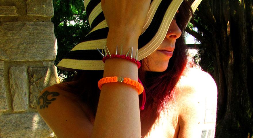 Sunshine In The Rosegarden! | Light Orange Prayer Rope Bracelet