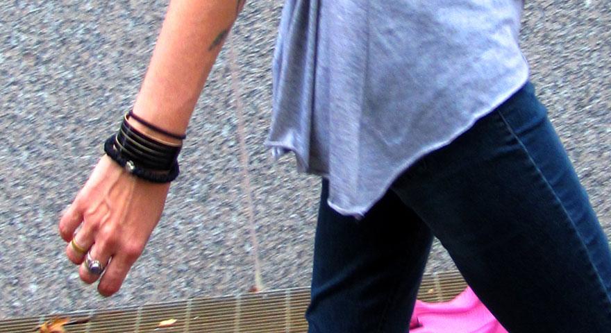 History For a Rainy Day With a Black 33Knots Bracelet