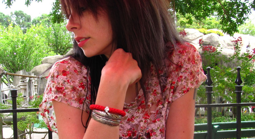 Arcades Aren't Just For Kids | Red Prayer Rope Bracelet Feature