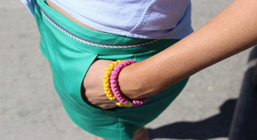 Lets Go to The Beach | Pink and Yellow Prayer Rope Bracelets