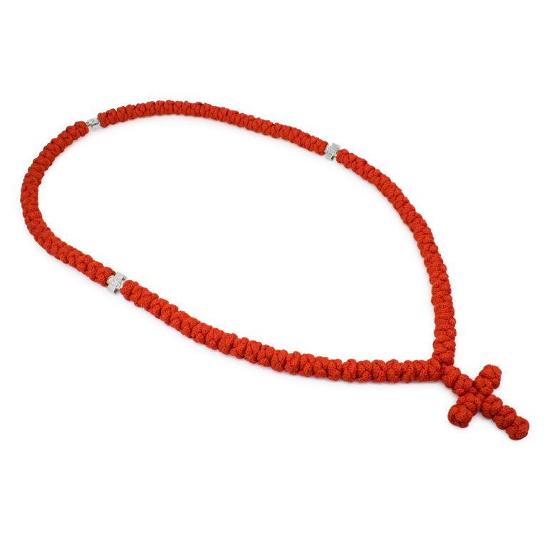 Charming 100 Knot Red Prayer Necklace