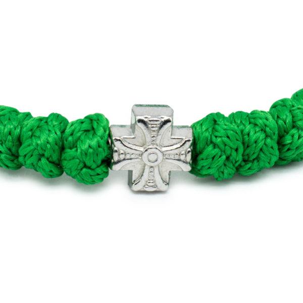 Green Prayer Bracelet