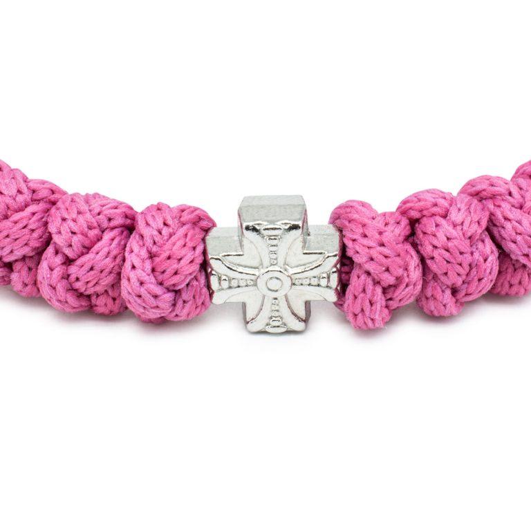 Pink Prayer Bracelet