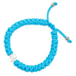 The adjustable turquoise prayer bracelet