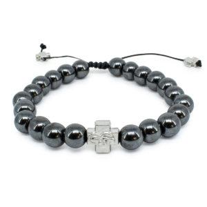 Hematite Stone Orthodox Bracelet-0