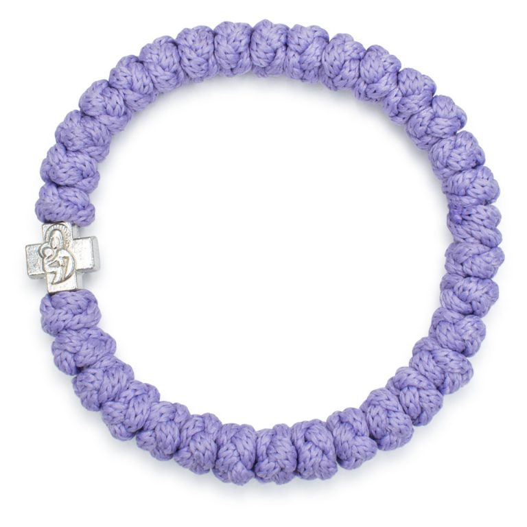 Lila Prayer Bracelet