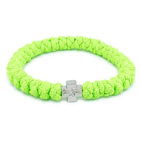 Neon Green Prayer Rope Bracelet-0