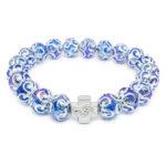"Purple Glass Orthodox Bracelet ""Helena""-0"