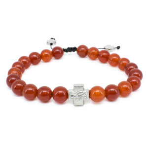 Red Carnelion Stone Orthodox Bracelet-0