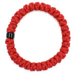 Red Prayer Rope Bracelet with Bead-151