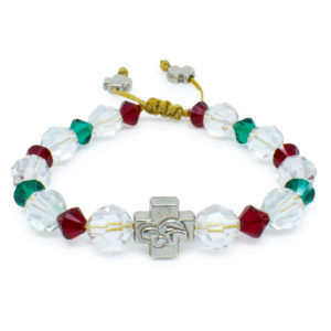 "Swarovski Crystal Orthodox Bracelet ""Jane""-0"