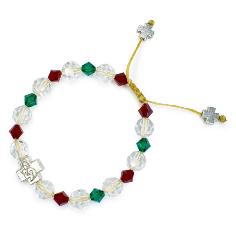 "Spectacular Swarovski Crystal Prayer Bracelet ""Jane"""