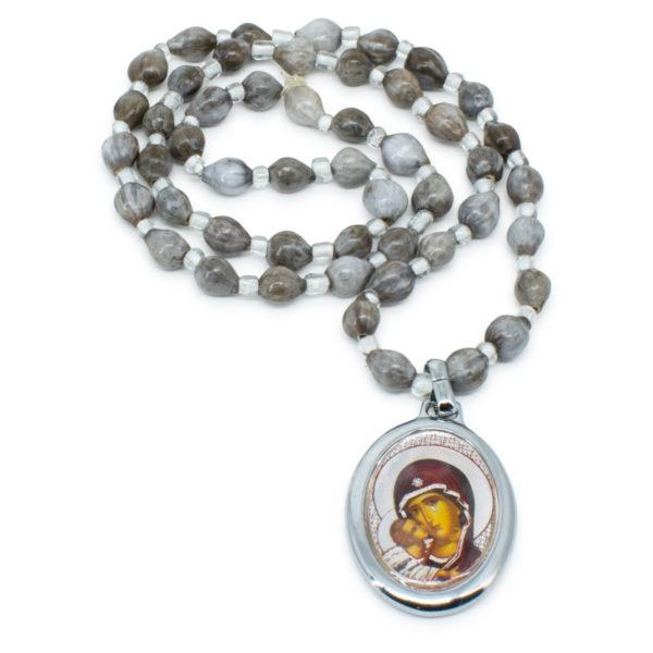 Panagia's Tears Orthodox Necklace-0