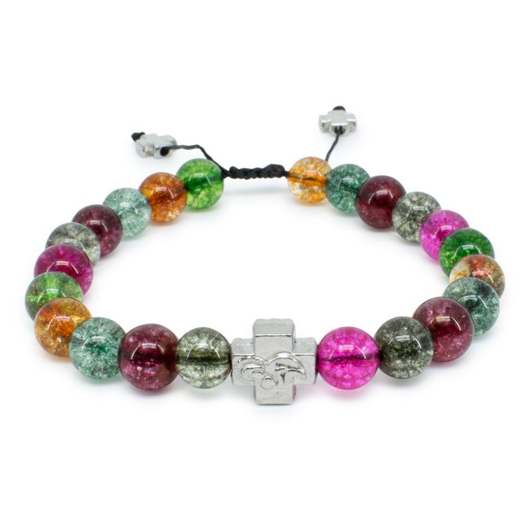 Tourmaline Quartz Stone Orthodox Bracelet-0