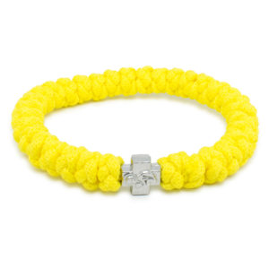 Yellow Prayer Rope Bracelet-0