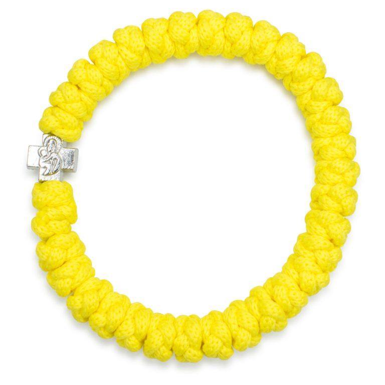 Yellow Prayer Bracelet